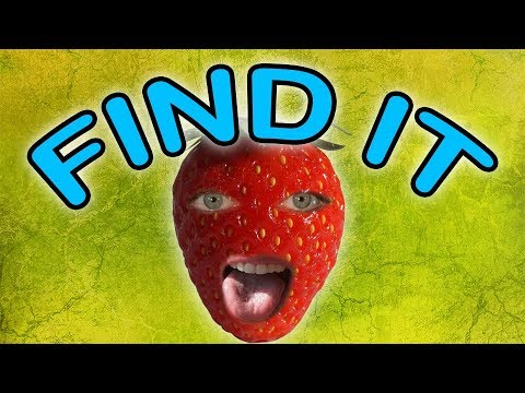 Find it game - Find the Strawberry