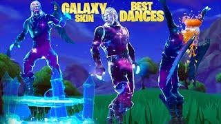 FORTNITE GALAXY SKIN DANCES SHOWCASE