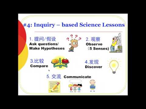 20170429 Sally Mao   Integrated Language and Science Lessons in Chinese Immersion Classrooms