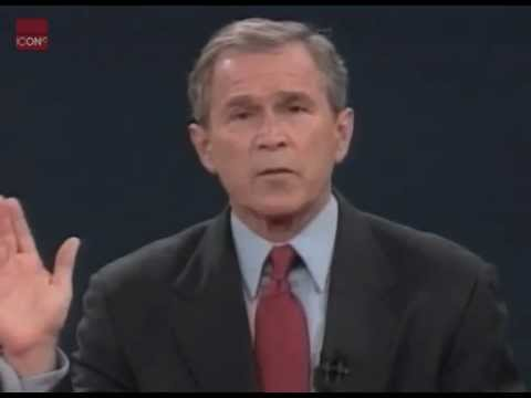 George W. Bush vs Al Gore - Presidential Debate highlights
