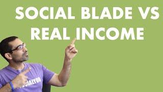 SocialBlade vs My Actual Youtube Earnings 2020