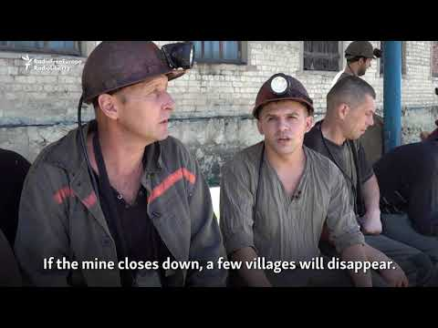 Coal Mines In Eastern Ukraine Threatened By Rising Water