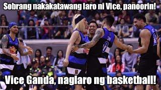 VICE GANDA, naglaro ng basketball! Sobrang nakakatawang laro! Foul kay Daniel Padilla