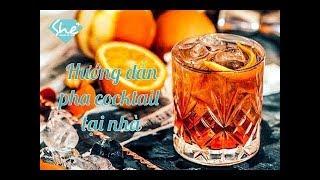 2CE BEAUTY -  Pha chế cocktail rượu vang trái cây ngon ngất ngây tại nhà