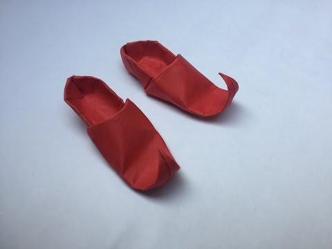 Origami PUNJABI JUTTI (ELF shoes)