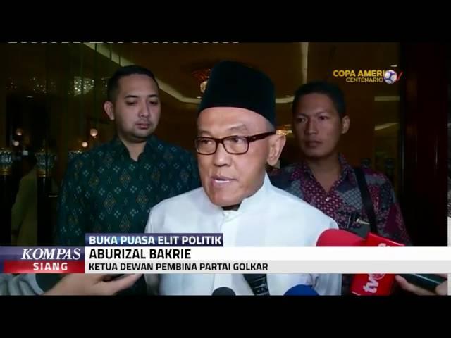 Jokowi, SBY & Habibie Hadiri Bukber Ical
