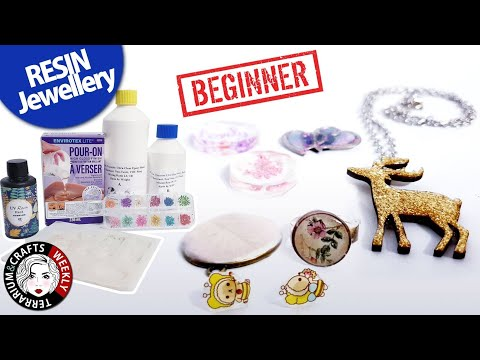 RESIN JEWELLERY for BEGINNERS - Resin jewelry for beginners