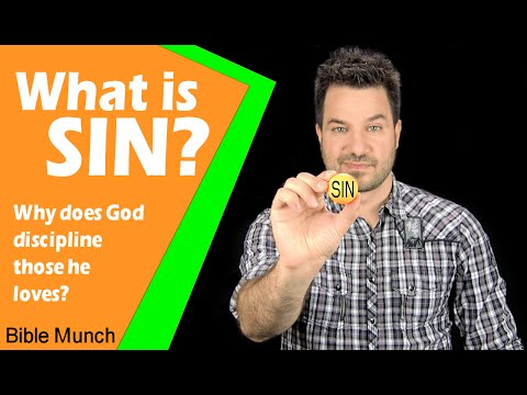 What is sin, and why God disciplines those he loves. | Jeremiah 13:22 Devotional | Bible Study