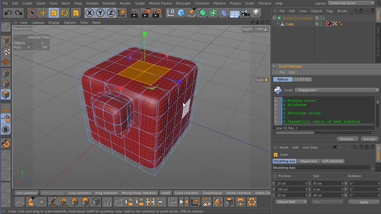 Polystein Kit for Cinema 4D - THE LOUNGE - C4D Cafe