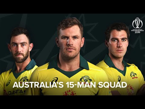 Australia Announce World Cup Squad