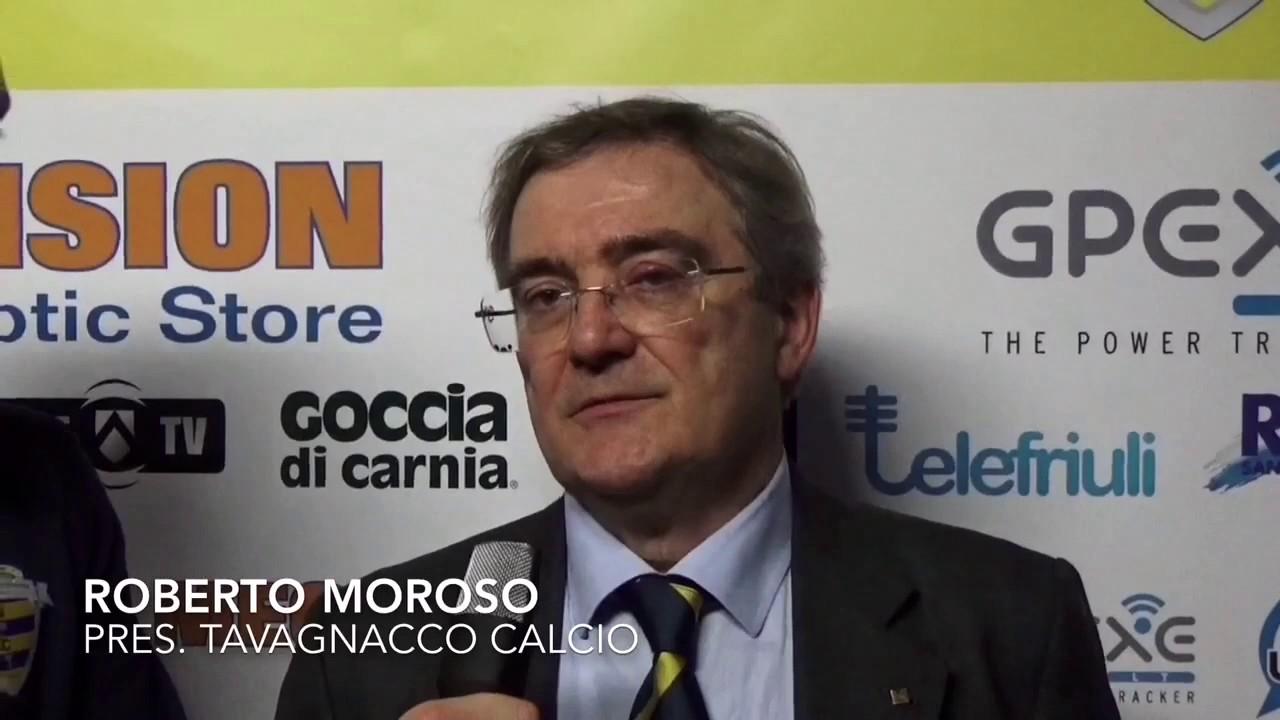 Roberto Moroso after Tavagnacco vs Brescia 1-3
