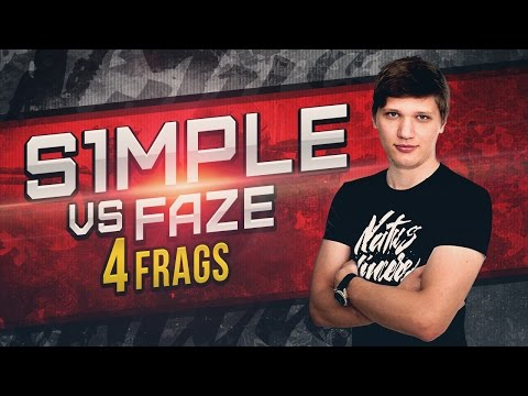 WATCH FIRST: s1mple vs FaZe @ ESL Pro League Season 5 Europe