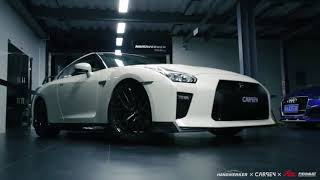 New video 2018 Nissan GTR R35 Skyline  engine sound & acceleration !!