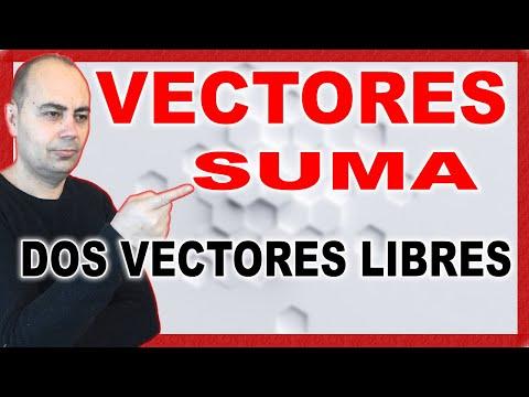 Realiza La SUMA DE DOS VECTORES LIBRES | Operaciones Con Vectores | Geometría Analítica #5