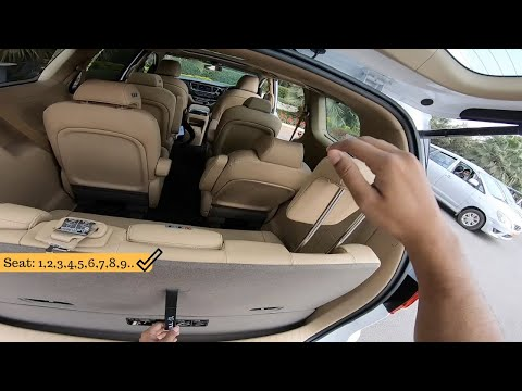 Kia Carnival 7,8,9 Seater | Variants | Accessories