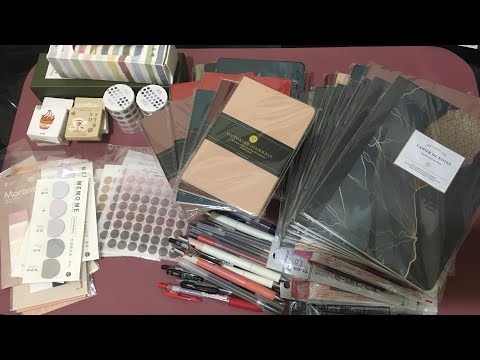Stationery haul from Shopee and National Bookstore Manila, Philippines