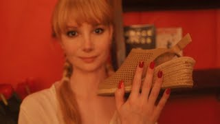 Whispered Shoe Haul and Try On (ASMR) 👡