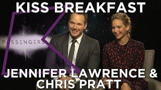Jennifer Lawrence & Chris Pratt talk Passengers, Nando's & more!