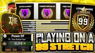 I USED A 99 OVERALL PURE STRETCH BIG (MUST WATCH)! IS THIS THE BEST BUILD IN NBA 2K19?