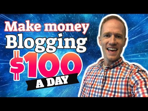How to Make $100 a Day Blogging   Step-by-Step Tutorial