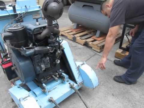 *Sold* Target Dual Matic Concrete Cement Saw 18hp Wisconsin Gas Self Propelled