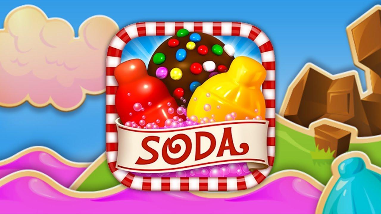 Game Play Candy Crush Soda Saga Windows Phone 8 1 Youtube