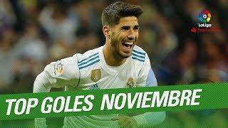 TOP Goals November LaLiga Santander 20172018