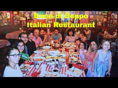 Buca Di Beppo Italian Restaurant L Old Town Pasadena California