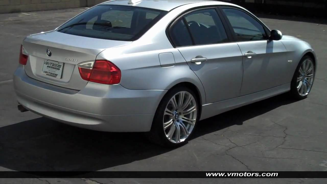 2007 bmw 328i navigation 19 m3 wheels youtube. Black Bedroom Furniture Sets. Home Design Ideas