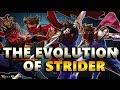 The Evolution Of Strider   Hiryu to Zeku ( 1989 - 2017 )