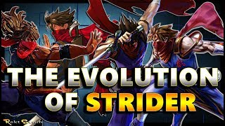 The Evolution Of Strider | Hiryu to Zeku ( 1989 - 2017 )