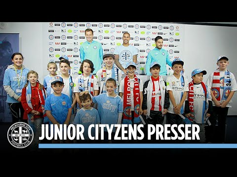 Junior Cityzens Press Conference