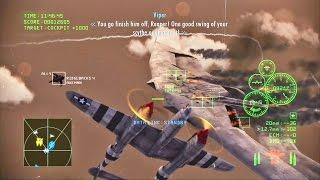 Ace Combat Infinity - Butterfly Master vs P-38L Lightning
