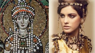 Teodora a Santa Prostituta da Igreja Católica - Imperatriz de Bizâncio - Full HD - Santa Sofia