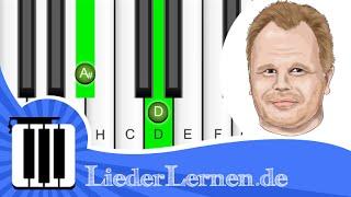 Herbert Grönemeyer - Der Weg - Klavier lernen - Musiknoten - Akkorde