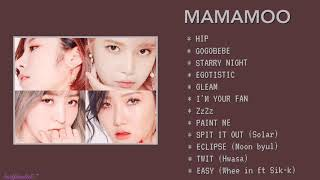 [PLAYLIST] MAMAMOO BEST SONG'S (마마무)2018-2020