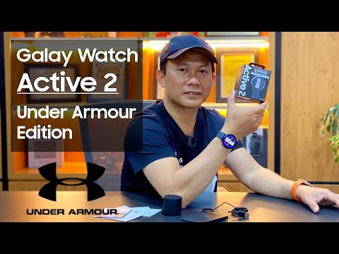 Khui Hộp Samsung Galaxy Watch Active 2 Under Armour Edition