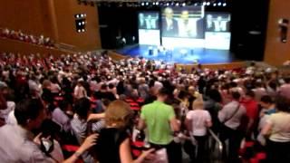 Семинар Р. Кийосаки в Москве 16.06.12г. Атмосфера зала!!!