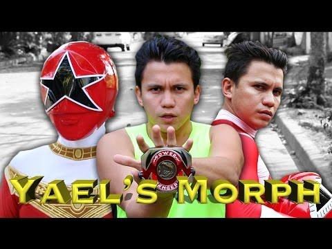 MORPH: Yael's Mighty Morphin Red Power Ranger