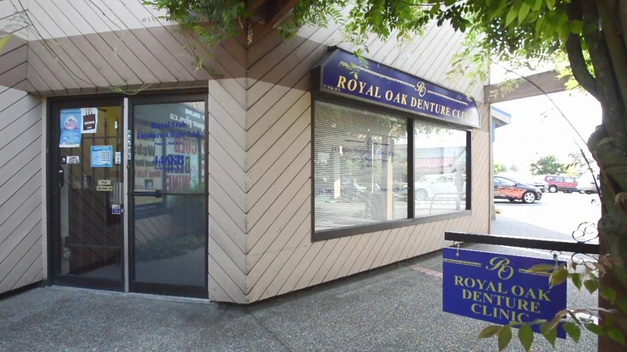 Dentures and Denture Repair in Victoria, BC - Royal Oak Denture