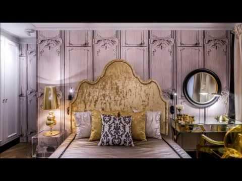 Фото-идеи оформления стен в  спальне