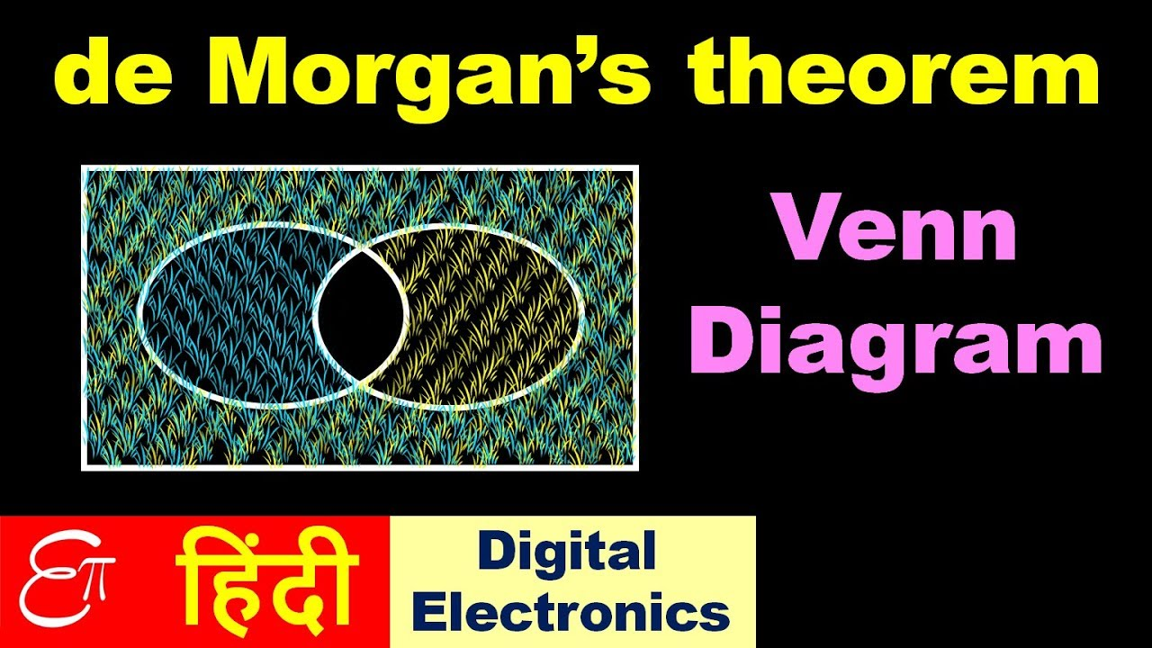 de morgans theorem part 3 venn diagram in hindi youtube de morgans theorem part 3 venn diagram in hindi ccuart Choice Image