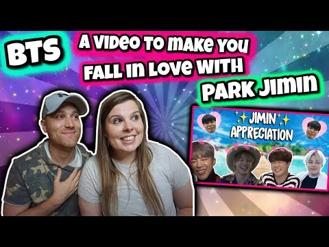 a video to make you fall in love with Park Jimin BTS REACTION
