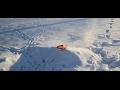RC Boat (Recoil 17) vs Snow!