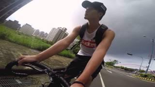 GoPro: 台中情人橋                    #Fixed gear#Leader bike