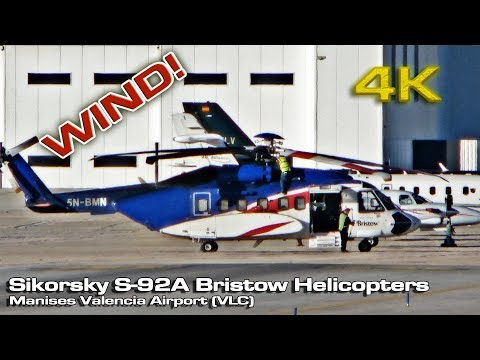 Sikorsky S-92A Bristow Helicopters at Valencia (Windy) 5N-BMN