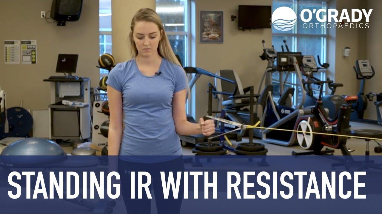 Video Category: shoulder exercises   O'Grady Orthopaedics