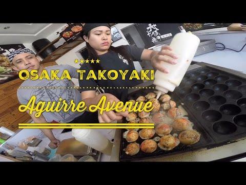 Osaka Takoyaki Aguirre Avenue BF Homes Sucat Paranaque Manila by HourPhilippines.com