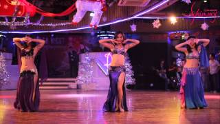 SHIMMY DANCE Performance at XMAS SALSA NIGHT (Hosted by Spring Salsa)