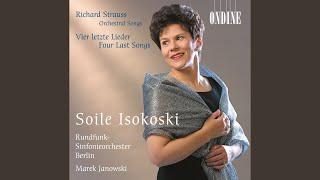 6 Lieder, Op. 37, TrV 187: No. 3. Meinem Kinde (version for soprano and orchestra)